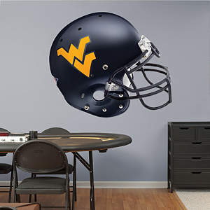 West Virginia Mountaineers Helmet Fathead Wall Decal